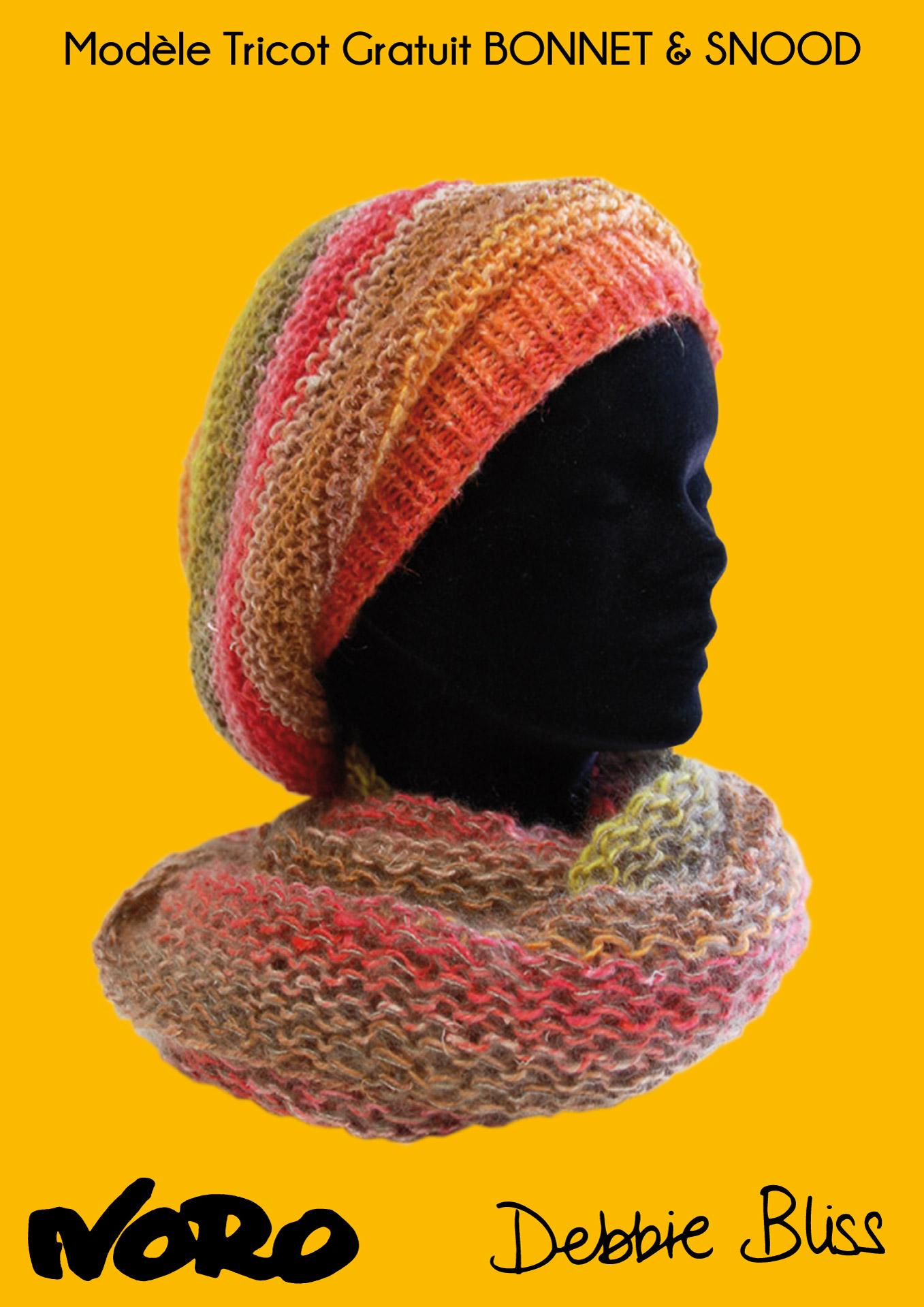 Modele tricot snood bebe gratuit - Modele de bonnet a tricoter facile ...