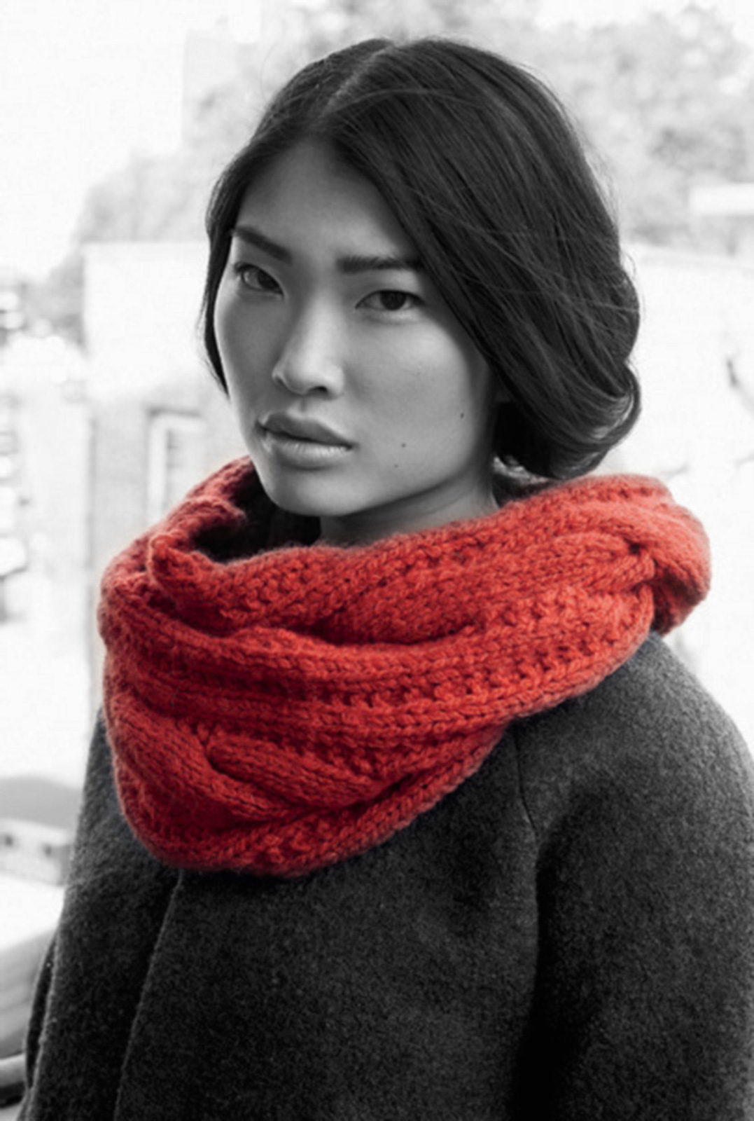 modele snood gratuit debbie bliss