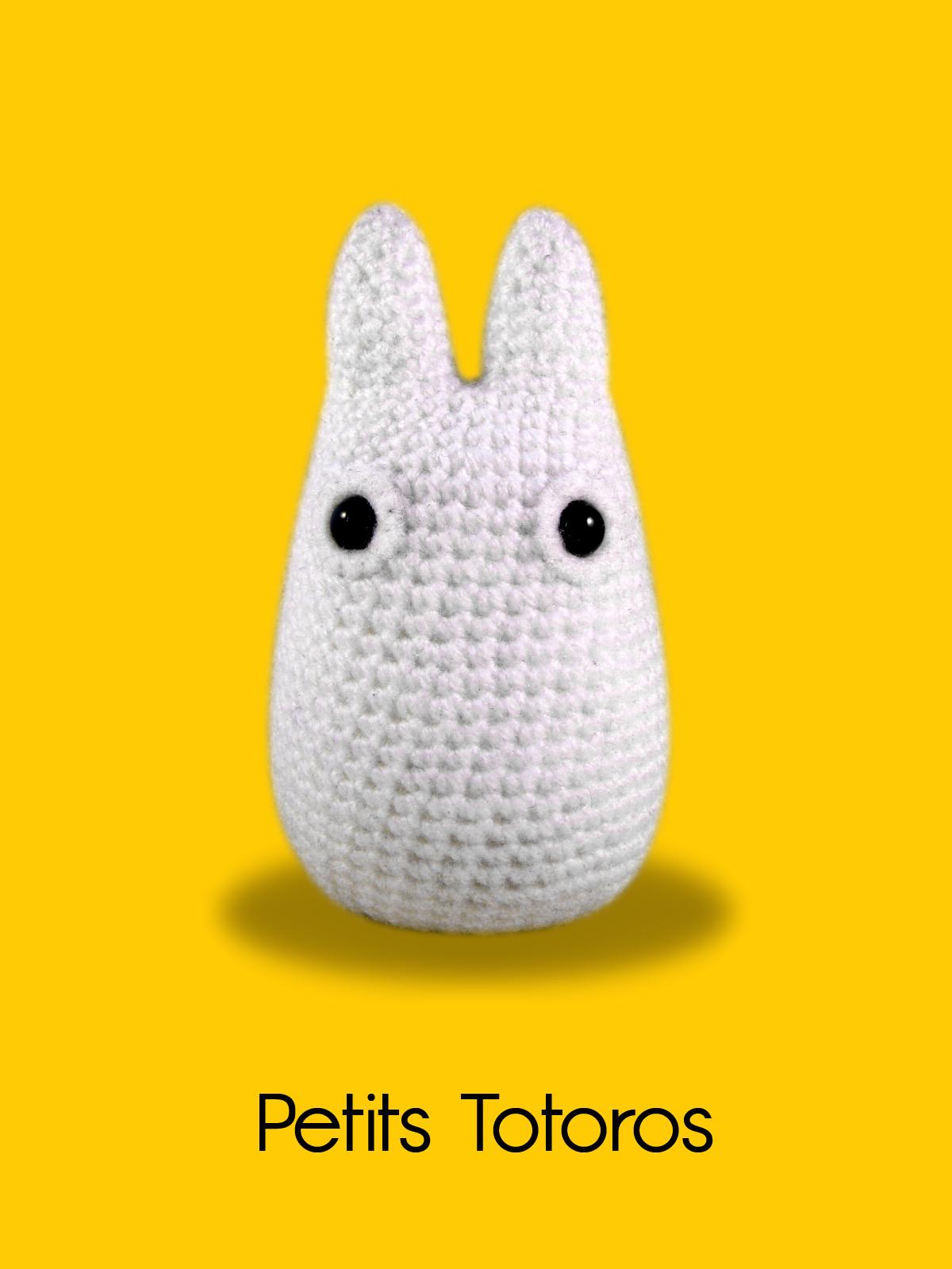 Tuto Amigurumi Totoro Francais : Blog laine tricot crochet Planete Laine: Modele crochet ...