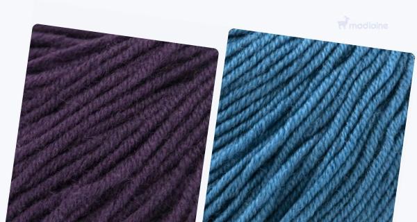 Comparer :  Gueret Violet Lie 011,  Gueret Bleu Curacao 020