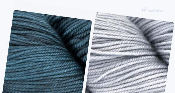 Comparer :  Malabrigo Sock Persia 852,  Malabrigo Sock Polar Morn 009