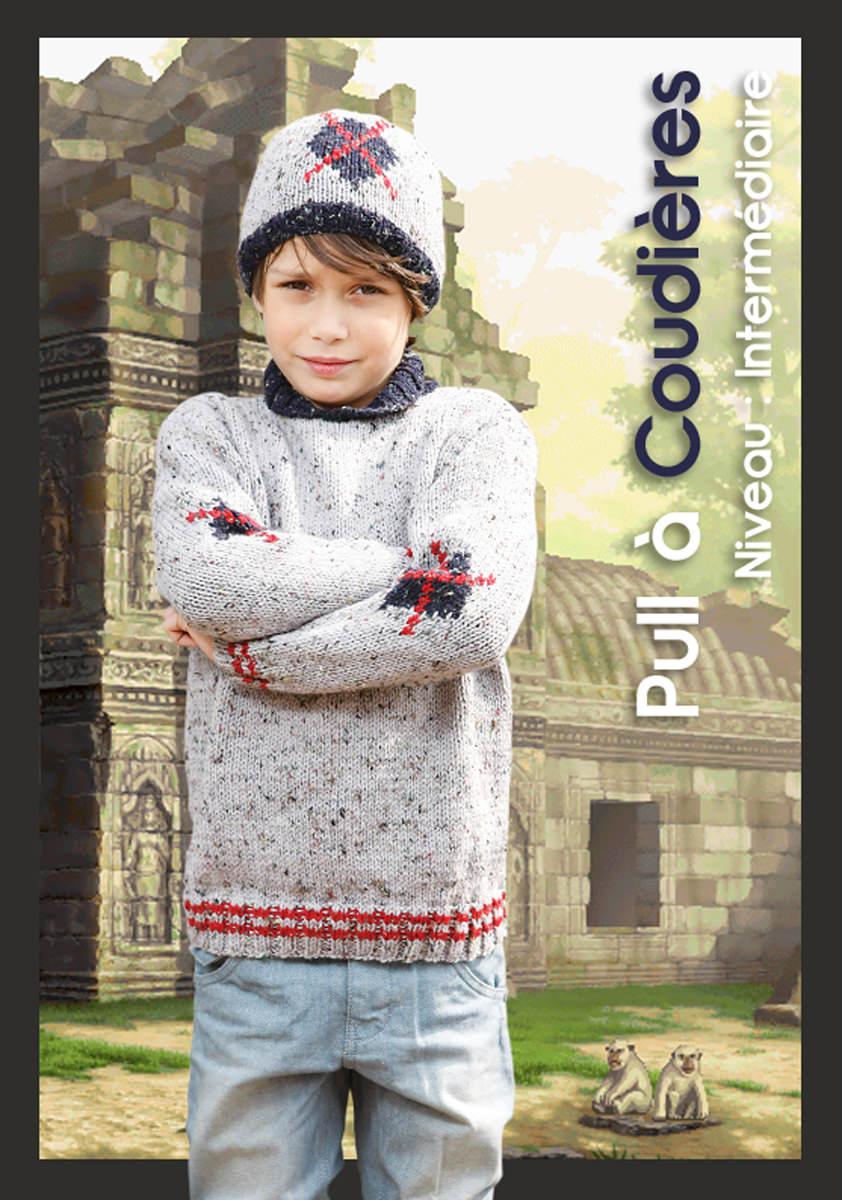 tricoter un pull garcon 10 ans