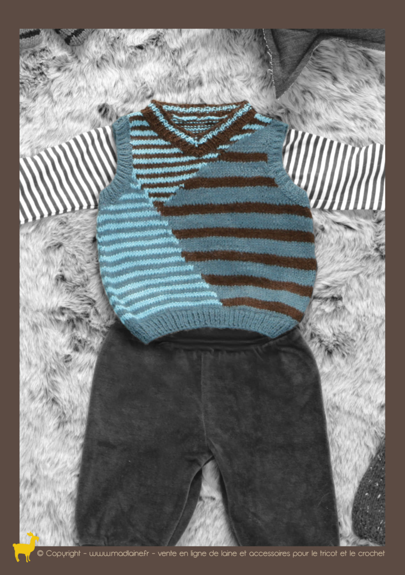 Modele tricot debardeur bebe - Modele gratuit pingouin ...