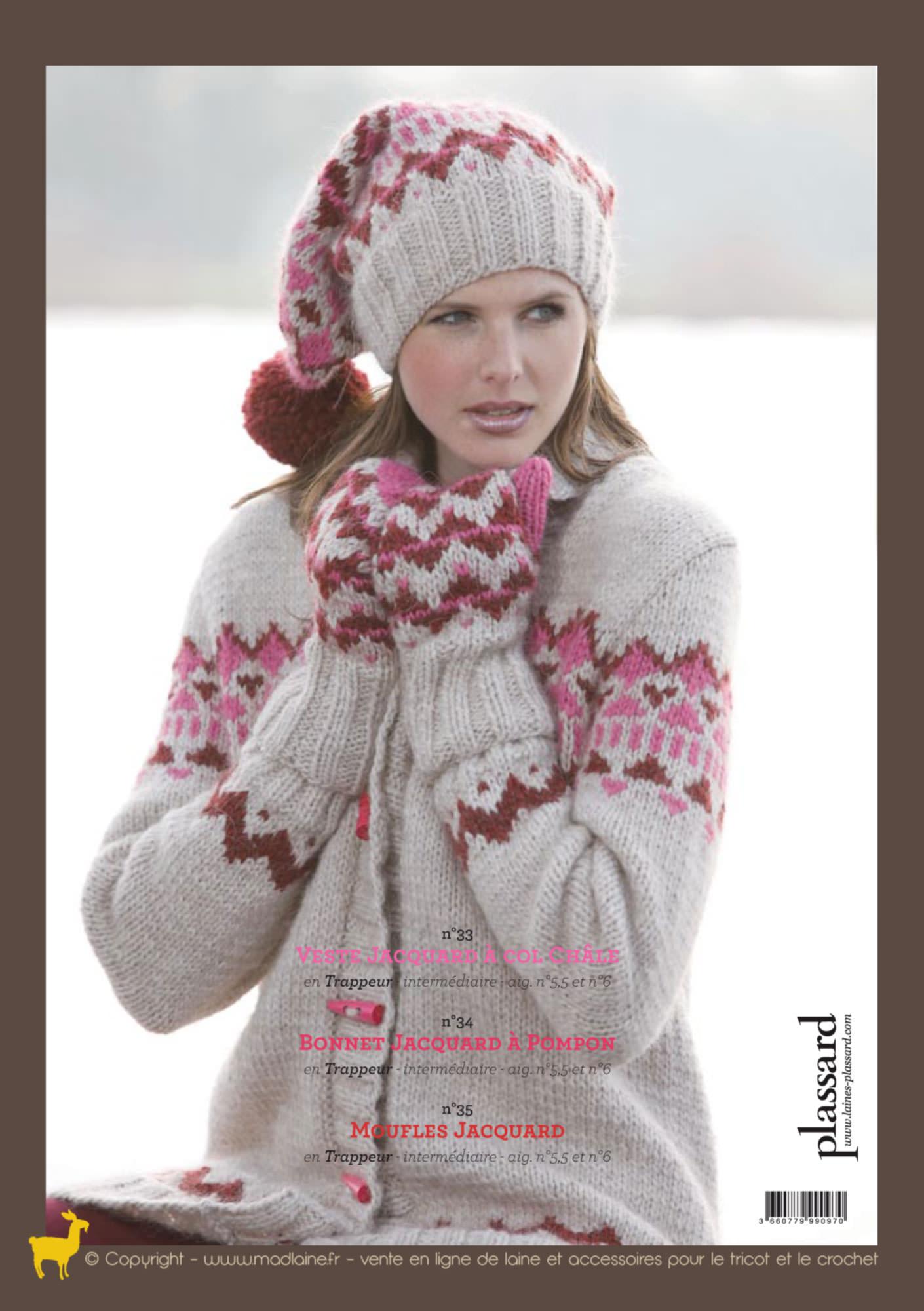 modeles tricot jacquard gratuits