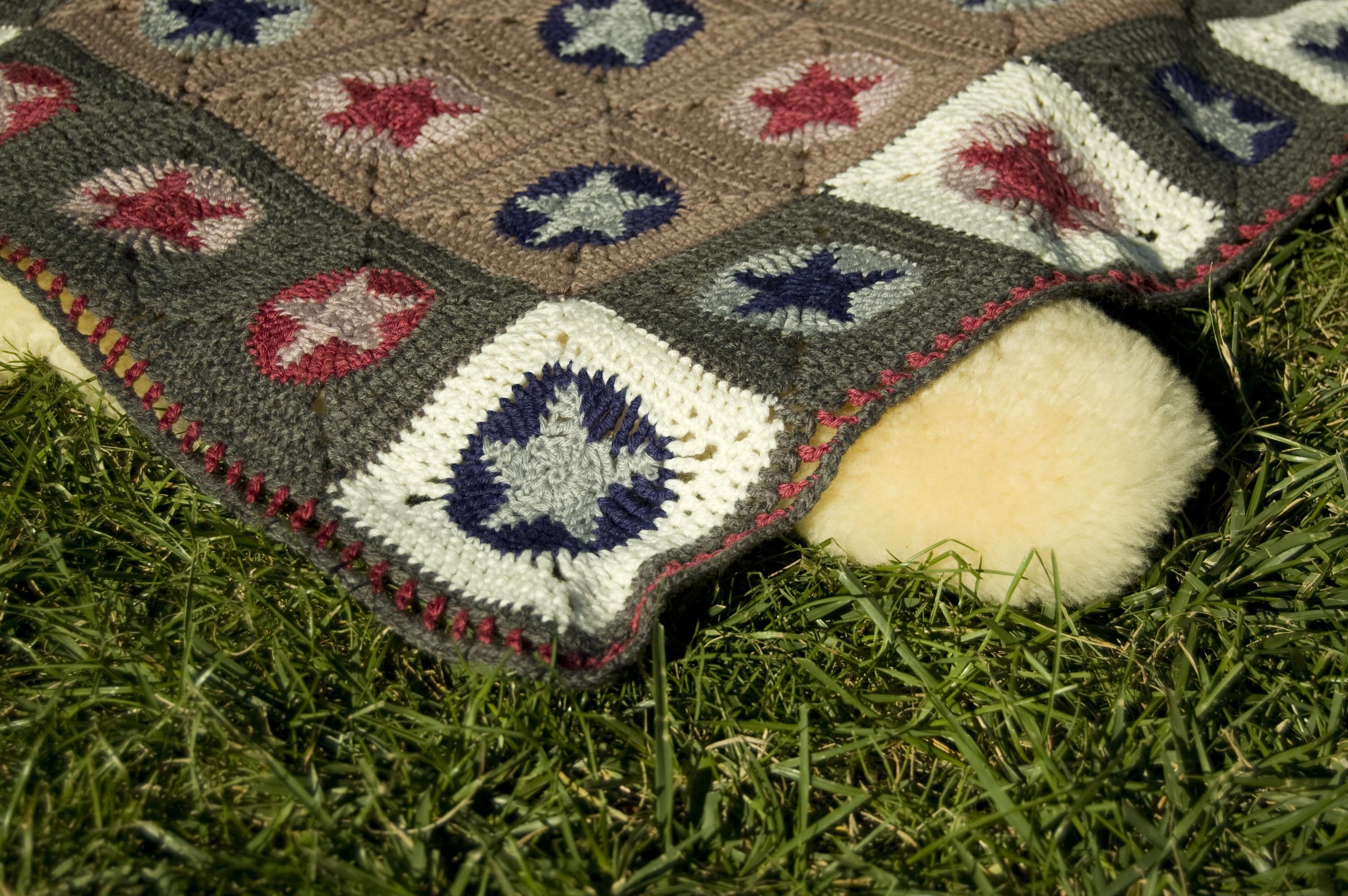 Crochet-Test: plaid bEbE en bamboulene et tobiane Tricot Test ...
