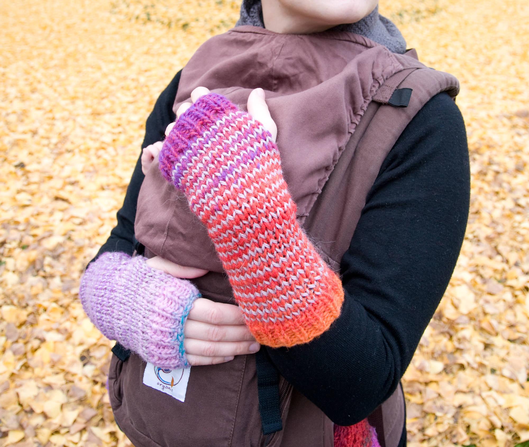 modèle tricot gant homme