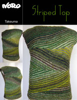 modele-tricot-gratuit-noro-takeuma-striped-top