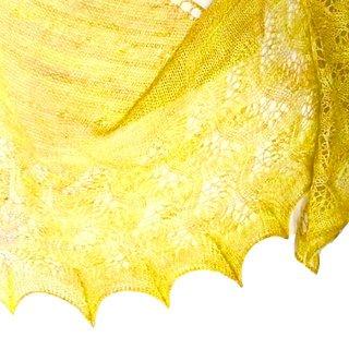 Kit Châle Iris Lace Sunshine - Madlaine