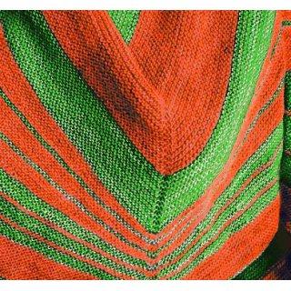 Kit Châle Outis Saphire Green / Glazed Carott - Madlaine