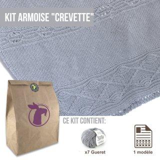 Kit Châle Armoise Crevette - Madlaine