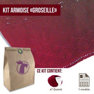 Kit Châle Armoise Groseille - Madlaine