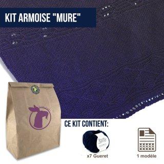 Kit Châle Armoise Mûre - Madlaine