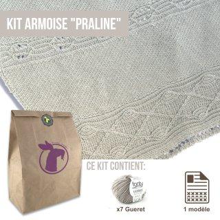 Kit Châle Armoise Praline - Madlaine