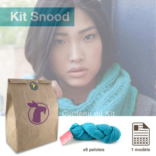 Kit Snood Sweet Paloma Jade - Madlaine