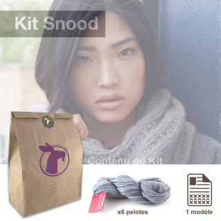 Kit Snood Sweet Paloma Argent - Madlaine