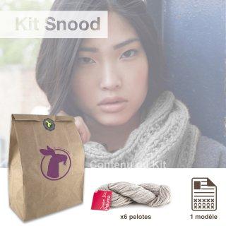 Kit Snood Sweet Paloma Galet - Madlaine