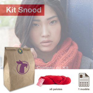 Kit Snood Sweet Paloma Safran - Madlaine