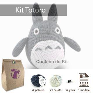 Kit Totoro Gris Foncé - Madlaine