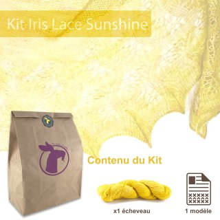 Kit Châle Iris Lace Sunshine - Madlaine