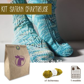 Kit Chaussettes Safran Chartreuse - Madlaine