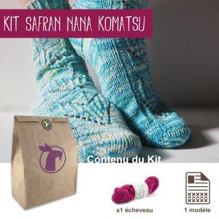 Kit Chaussettes Safran Nana Komatsu - Madlaine