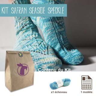 Kit Chaussettes Safran Seaside Speckle - Madlaine