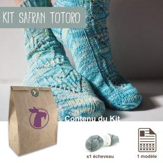 Kit Chaussettes Safran Totoro - Madlaine