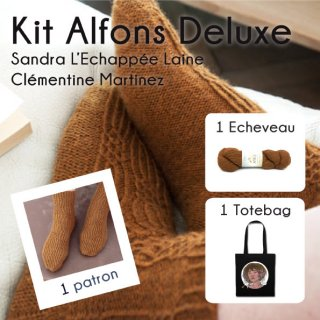 Kit Chaussettes Alfons Catbells Deluxe 1 - Madlaine