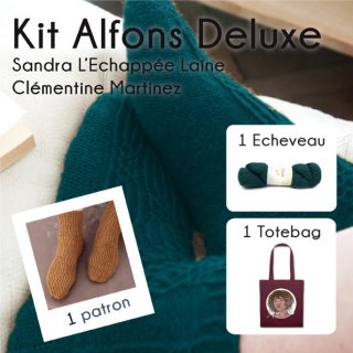 Kit Chaussettes Alfons Eden Valley Deluxe 2 - Madlaine