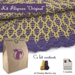 Kit Châle Filigreen Original - Madlaine