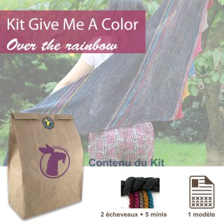 Kit Châle Give Me A Color Over The Rainbow - Madlaine