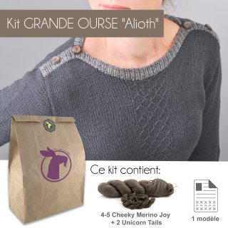 Kit Pullover Grande Ourse Alioth 44-52 - Madlaine
