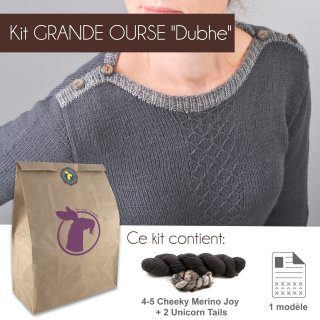 Kit Pullover Grande Ourse Dubhe 44-52 - Madlaine