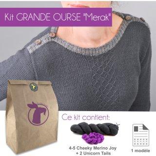 Kit Pullover Grande Ourse Merak 36-42 - Madlaine