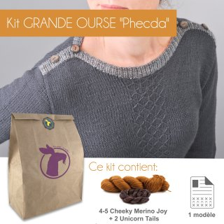 Kit Pullover Grande Ourse Phecda 36-42 - Madlaine
