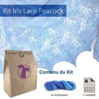 Kit Châle Iris Lace Peacock - Madlaine