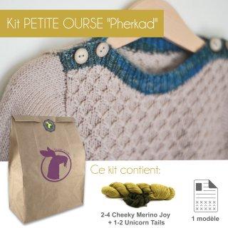 Kit Pullover Petite Ourse Pherkad 1-4 ans - Madlaine