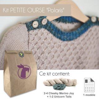 Kit Pullover Petite Ourse Polaris 1-4 ans - Madlaine