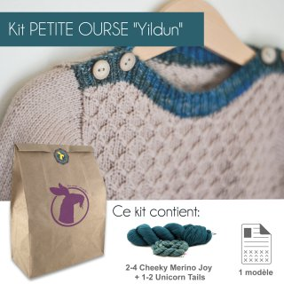 Kit Pullover Petite Ourse Yildun 12-14 ans - Madlaine
