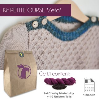Kit Pullover Petite Ourse Zeta 12-14 ans - Madlaine