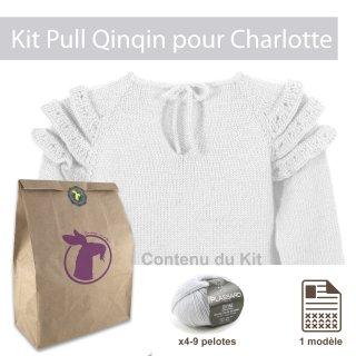 Kit Pullover Qinqin Charlotte 18-24mois - Madlaine