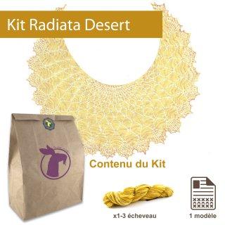 Kit Châle Radiata Desert Taille L - Madlaine