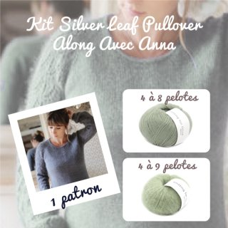Kit Pullover Silver Leaf Dusty Artichoke - Madlaine