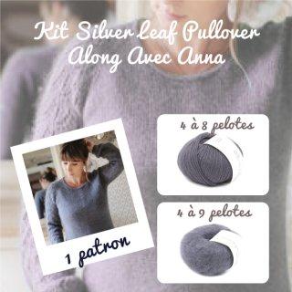 Kit Pullover Silver Leaf Dusty Violet - Madlaine