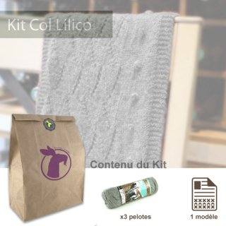 Kit Col Lilico Souris - Madlaine