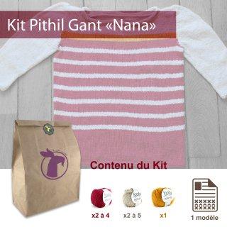Kit Pullover Pithil Gant Nana / 8 ans - Madlaine
