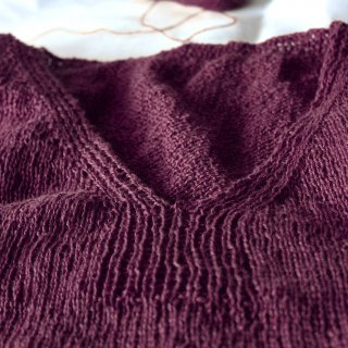 Kit Top Simply Linen Bordeaux / L - Madlaine