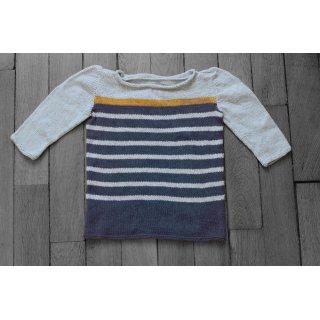 Kit Pullover Pithil Gant Bee Marin / 4-6 ans - Madlaine