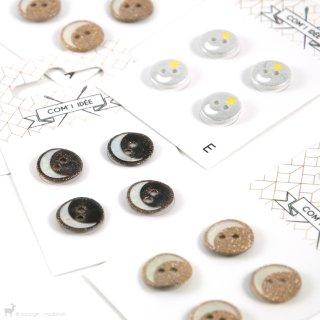 Carte de boutons 12mm - COM'1 IDEE