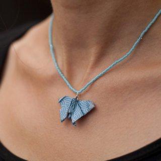 """Bijou Papillon Bleu Collection """"Précieuses""""  - Madlaine"""